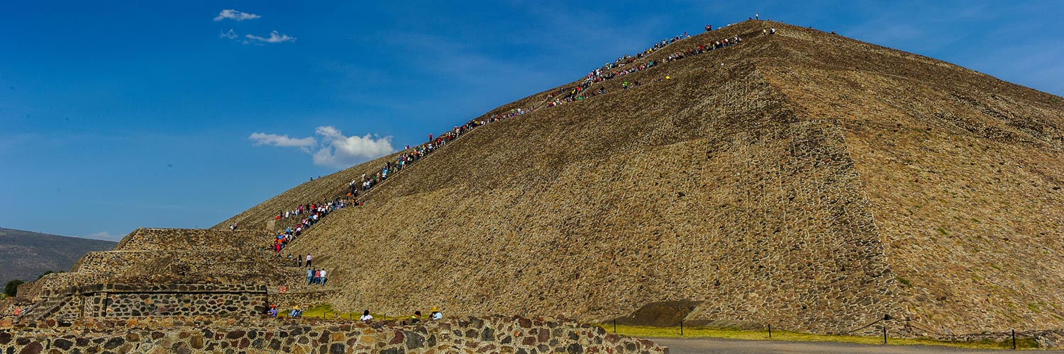 Aztec Pyramid of the Sun, Teotihuacan, Mexico